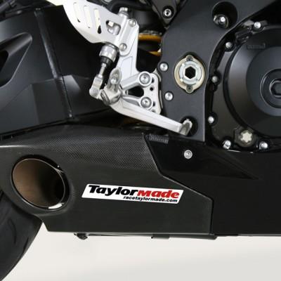 2007 - 2008 Suzuki GSXR 1000 Slip-On Exhaust Kit - Carbon Trim