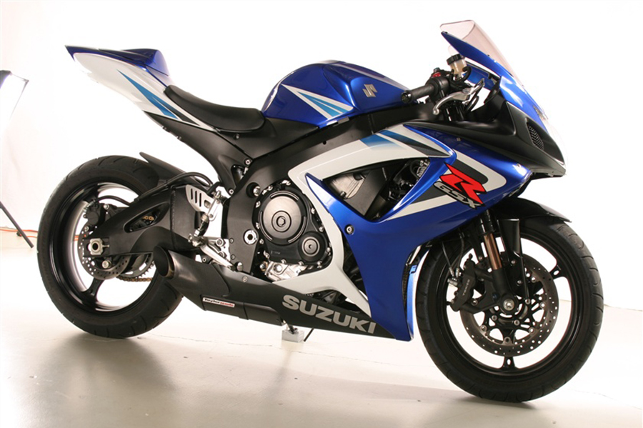 2006 - 2007 Suzuki GSXR 600 / GSXR 750 Exhaust Kit
