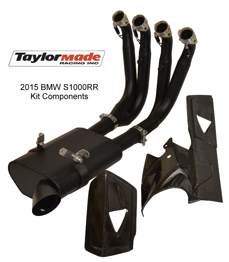 Taylormade BMW S1000RR exhaust kit