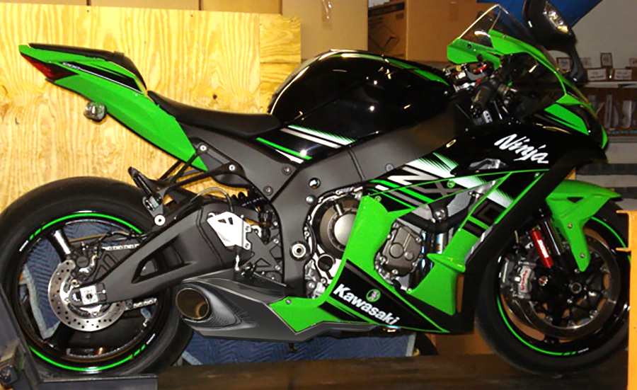 Taylormade ZX-10R Exhaust Concept