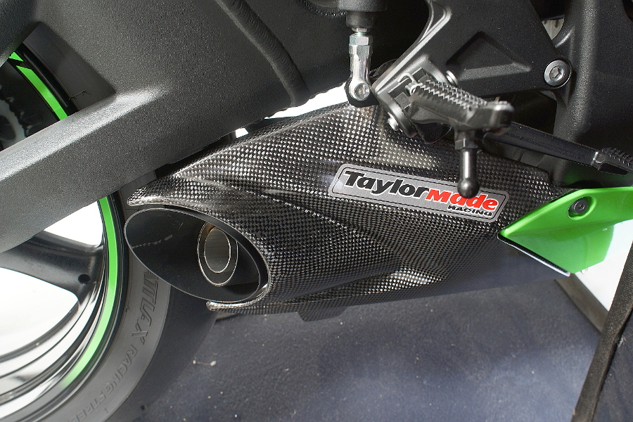 Taylormade ZX-10R Exhaust Detail