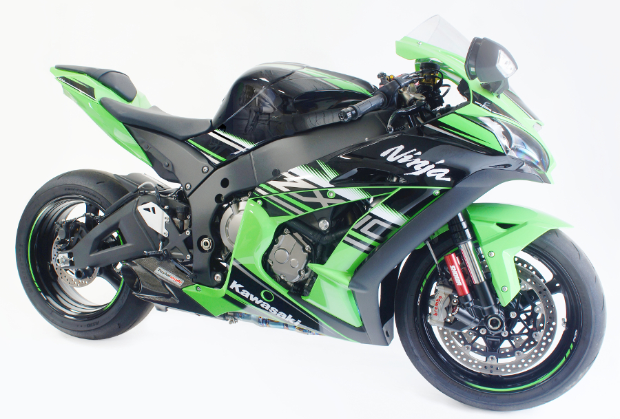 2016-2017 kawasaki zx-10r exhaust kit