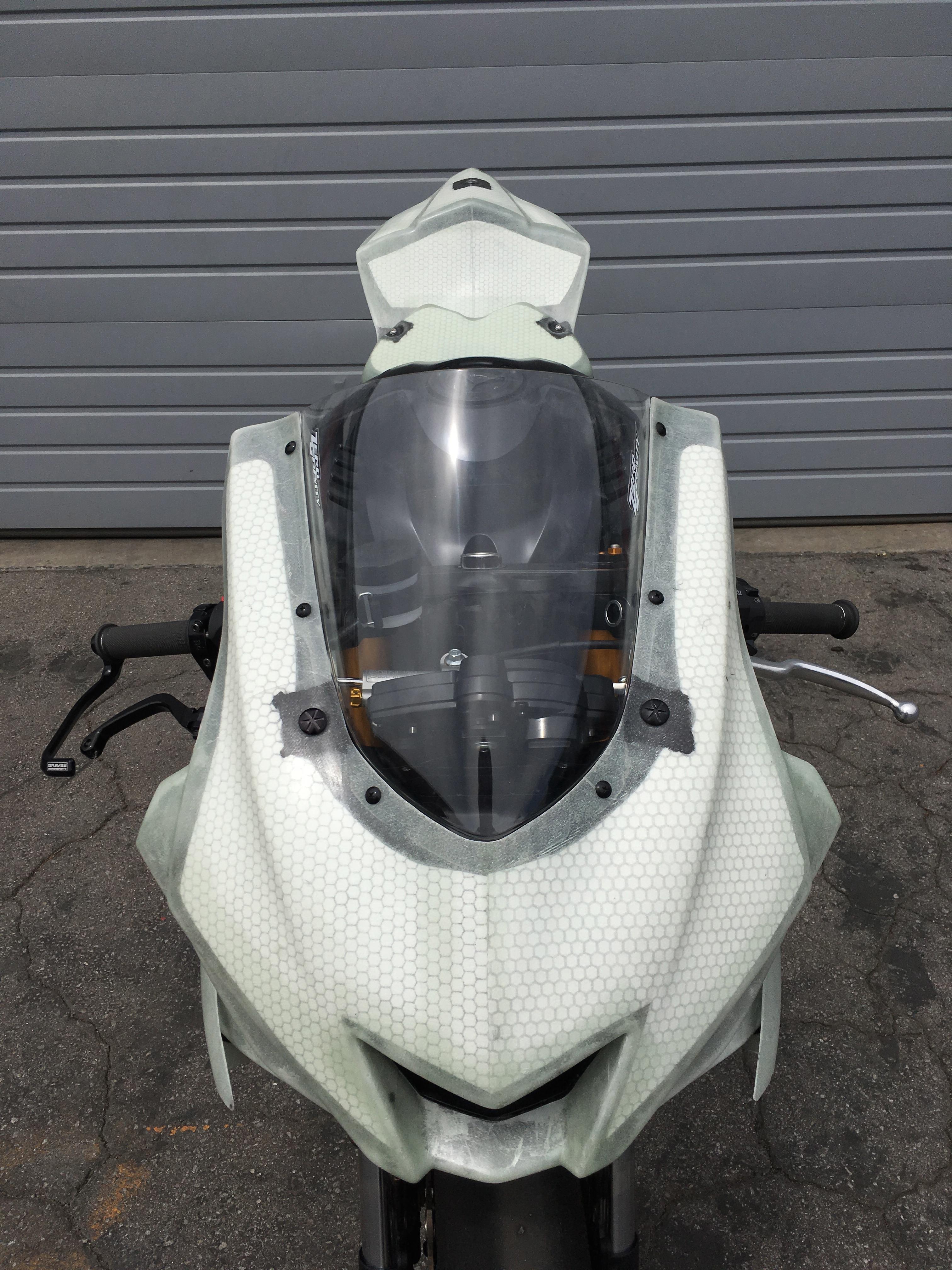 2017 Yamaha R6 Race Bodywork