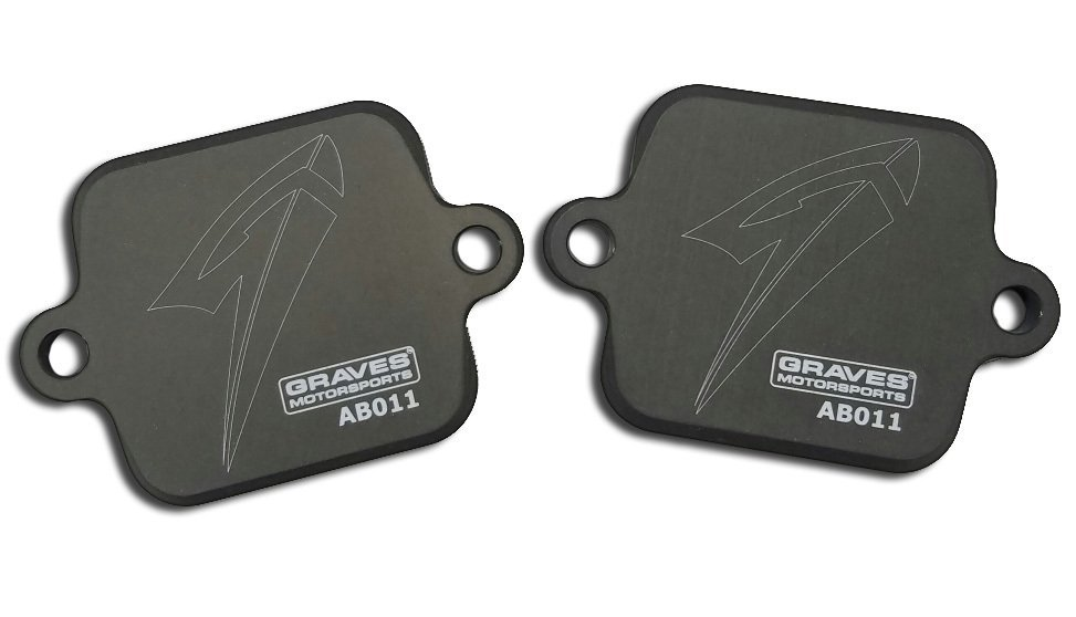 2017 Yamaha R6 Block Off Plates